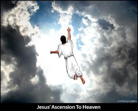 Jesus Ascended Back To Heaven