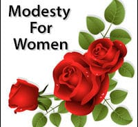 Modesty For Women